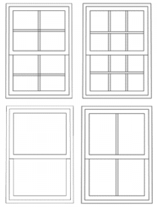 4 sash windows types