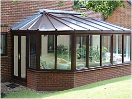 VICTORIAN LEAN-TO CONSERVATORY